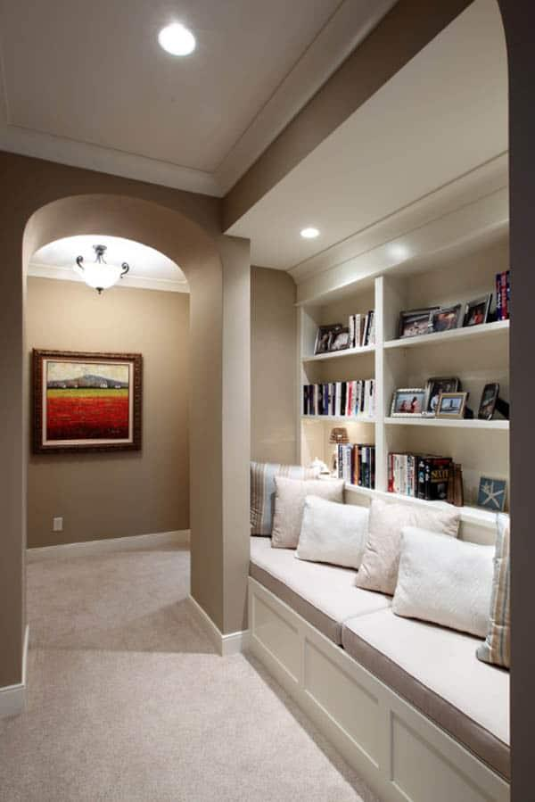 Cozy And Decorated Reading Nooks That Will Inspire You To Design Your Own Little Corner 39