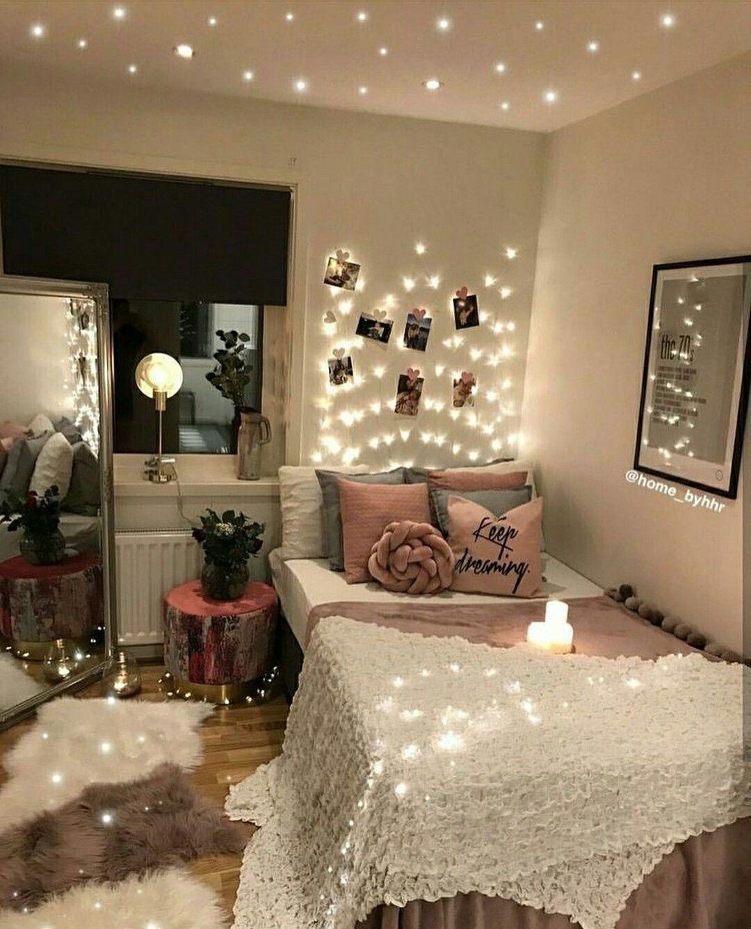 Cute VSCO Teen Girl Bedroom Ideas 10