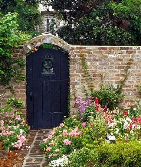 Inexpensive Secret Wood Garden Gates 17