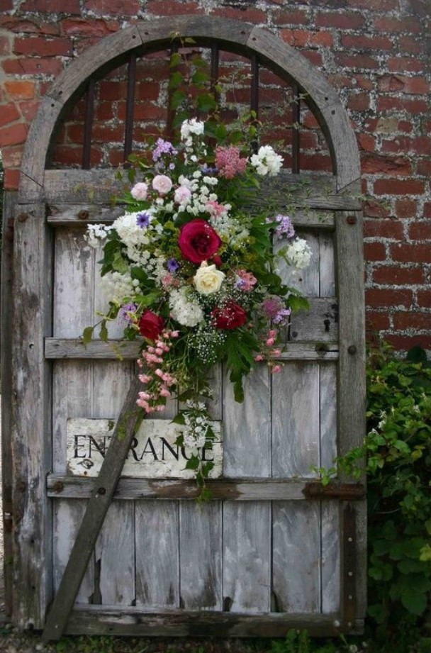 Inexpensive Secret Wood Garden Gates 20