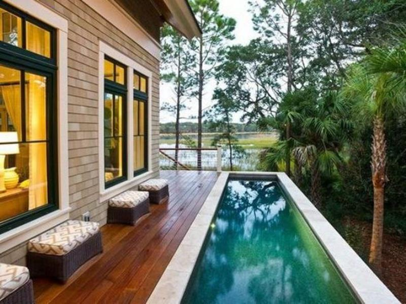 Affordable Small Backyard with Plunge Pool 15