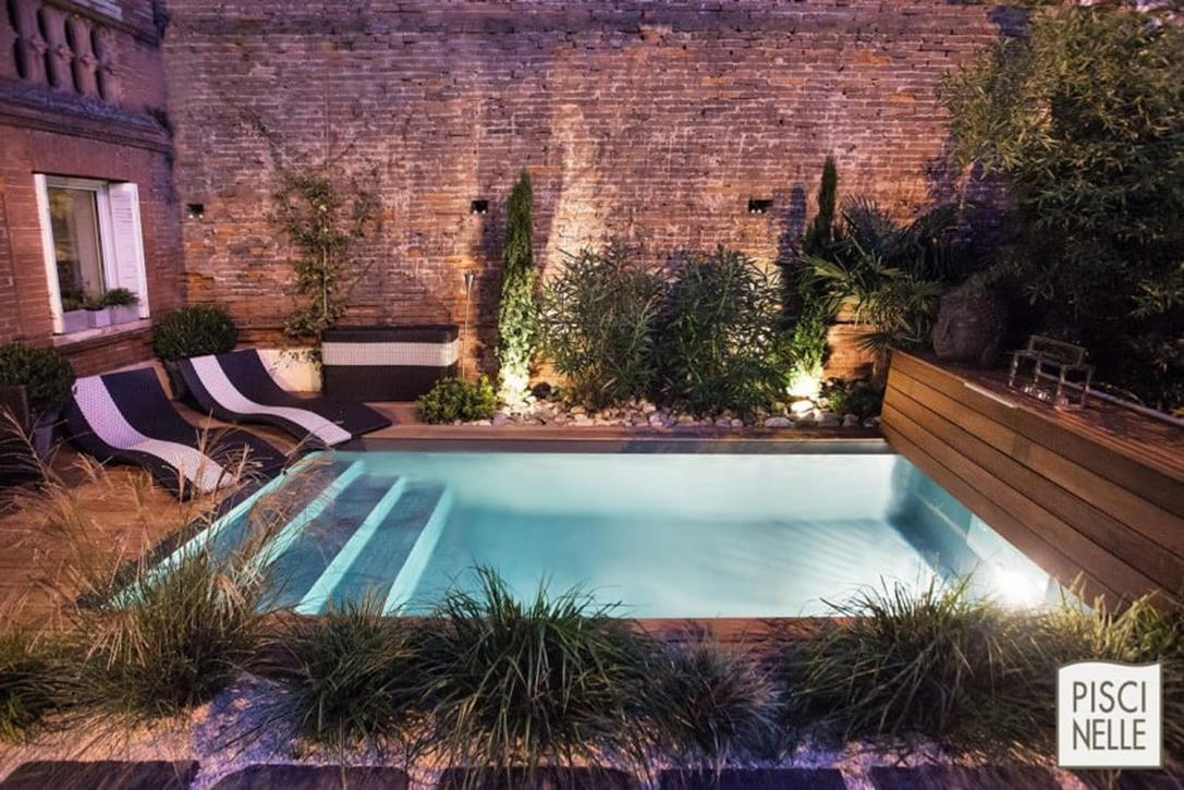 Affordable Small Backyard with Plunge Pool 28