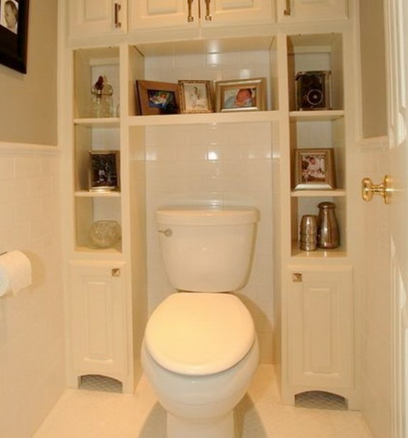 Over The Toilet Storage for Extra Space