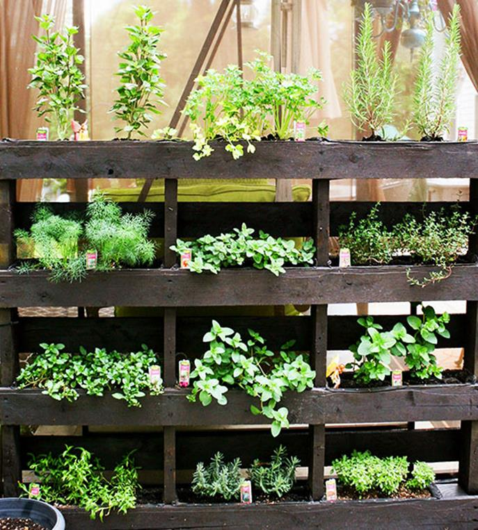 Upcycled Wood Pallet Gardens 1