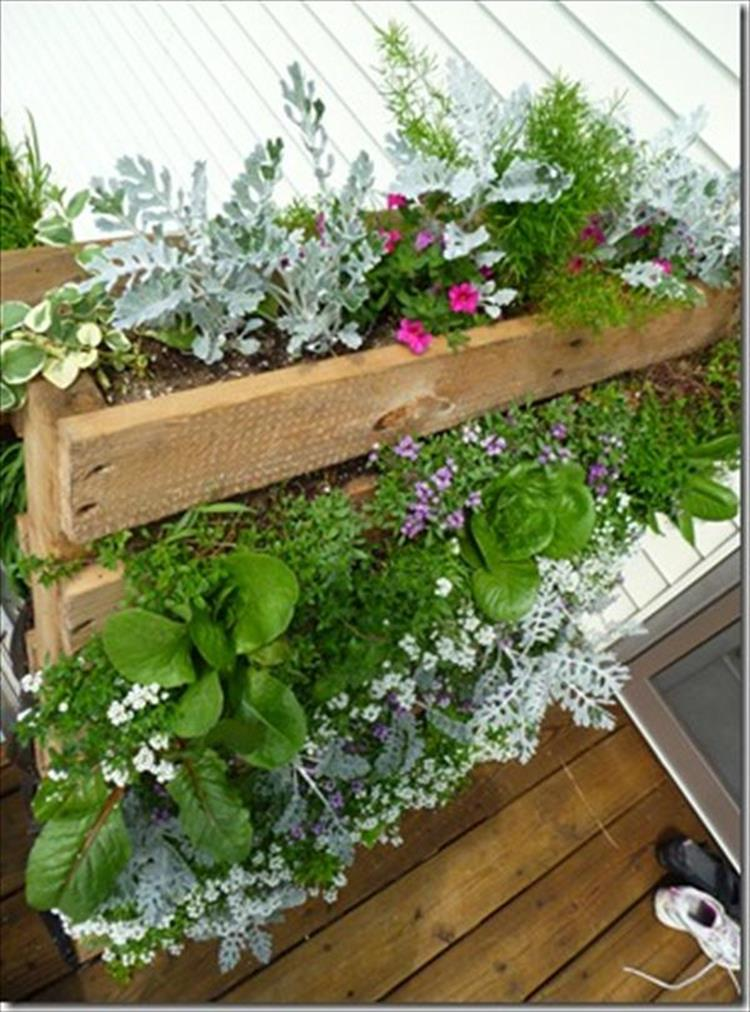 Upcycled Wood Pallet Gardens 12