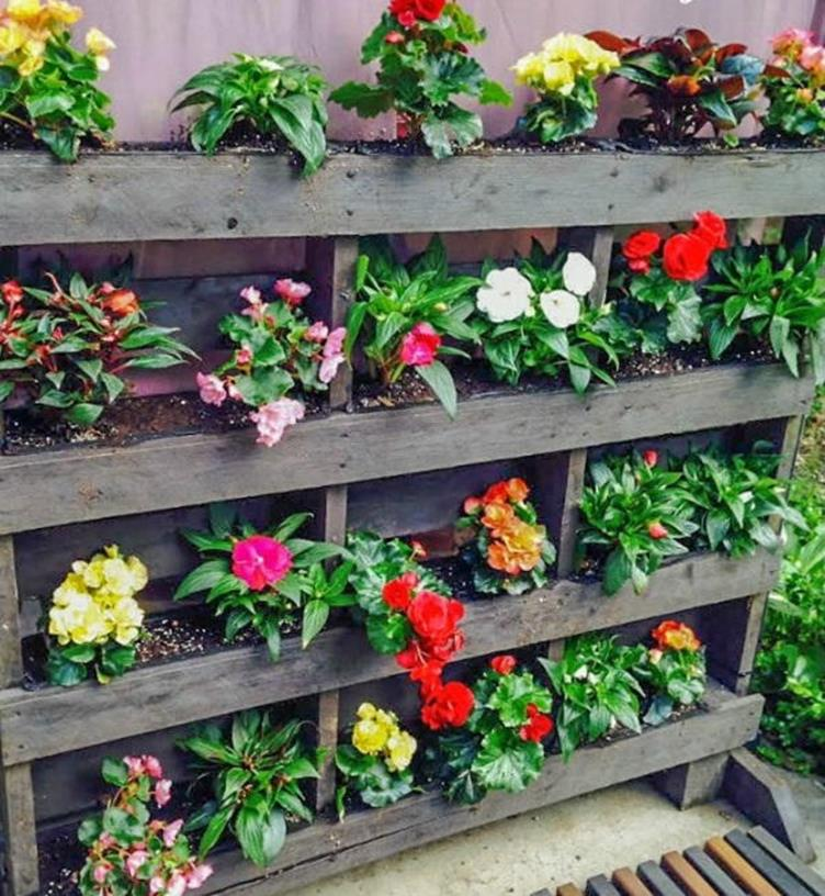 Upcycled Wood Pallet Gardens 22