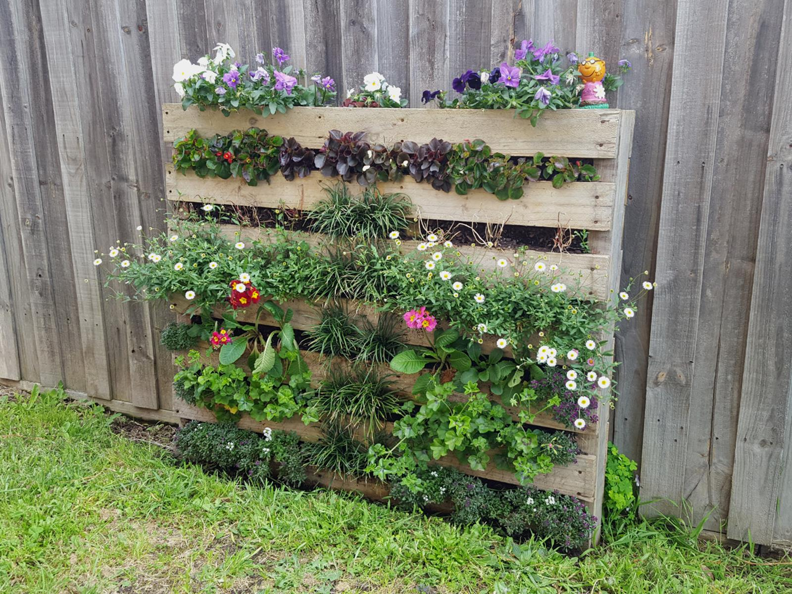 Upcycled Wood Pallet Gardens 9