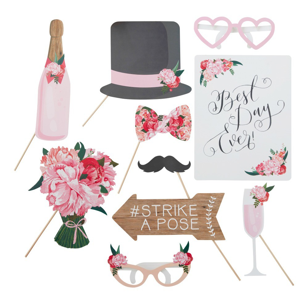 Collection Accessoires Photobooth Mariage Hippie Chic