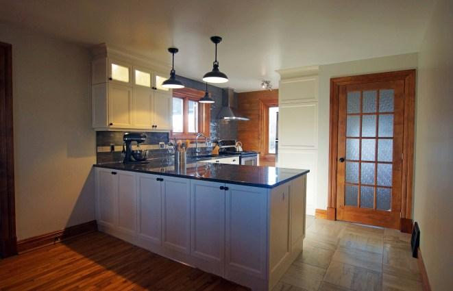 concept a air ouverte pour une maison d'époque, réaménagement, choix de matériaux
