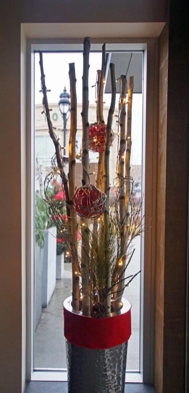 Décor de Noel, Restaurant Zibo à Boisbriand