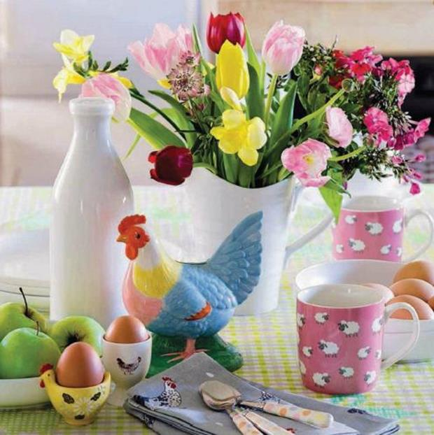 Country Spring Decorating Ideas On A Budget 35