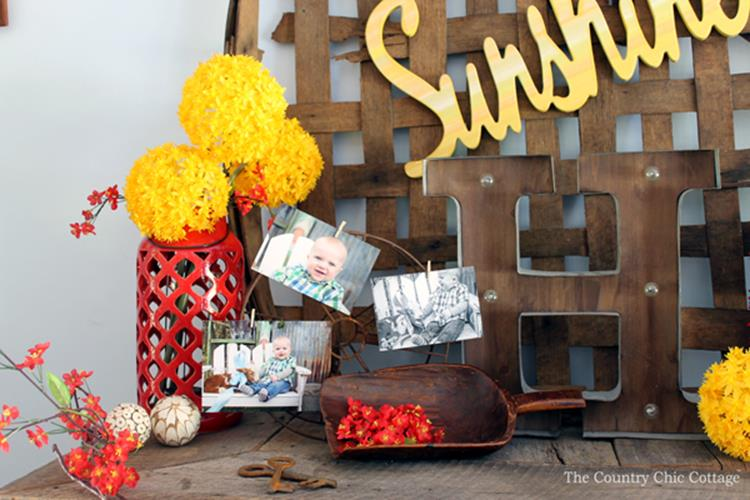 Country Spring Decorating Ideas On A Budget 46