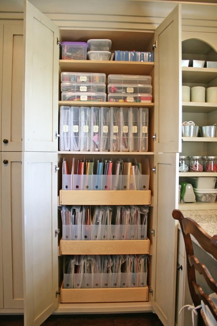 Craft Room Storage Organization Ideas On a Budget 2