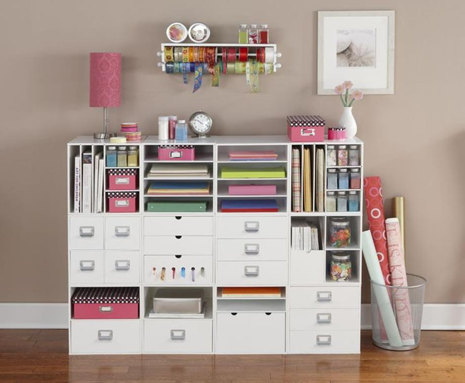 Craft Room Storage Organization Ideas On a Budget 32