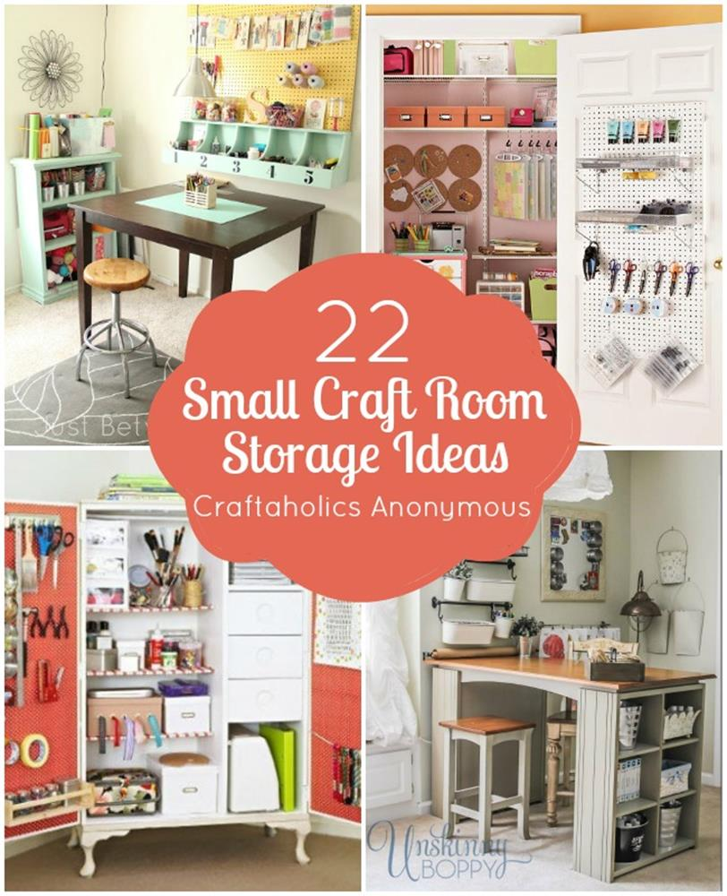 Craft Room Storage Organization Ideas On a Budget 34