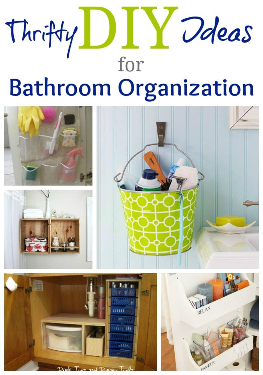 DIY Bathroom Organization Ideas On a Budget 7