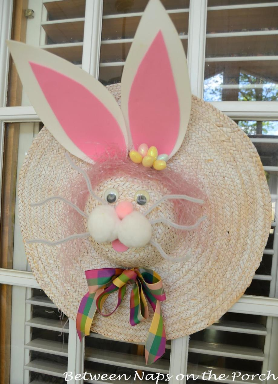 DIY Front Door Easter Decorating Ideas 18