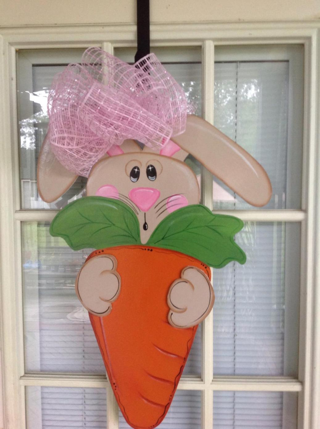 DIY Front Door Easter Decorating Ideas 3