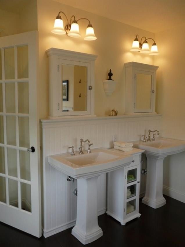 Farmhouse Style Bathroom Sink Ideas 10