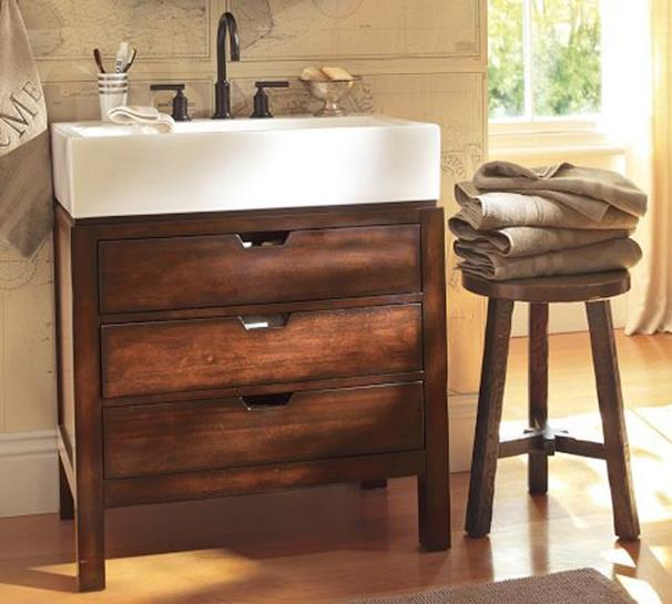 Farmhouse Style Bathroom Sink Ideas 3
