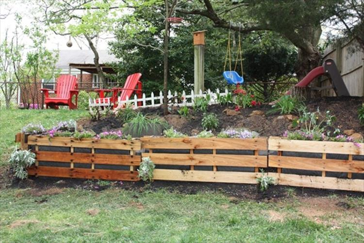 Gardening Ideas With Wood Pallets 16