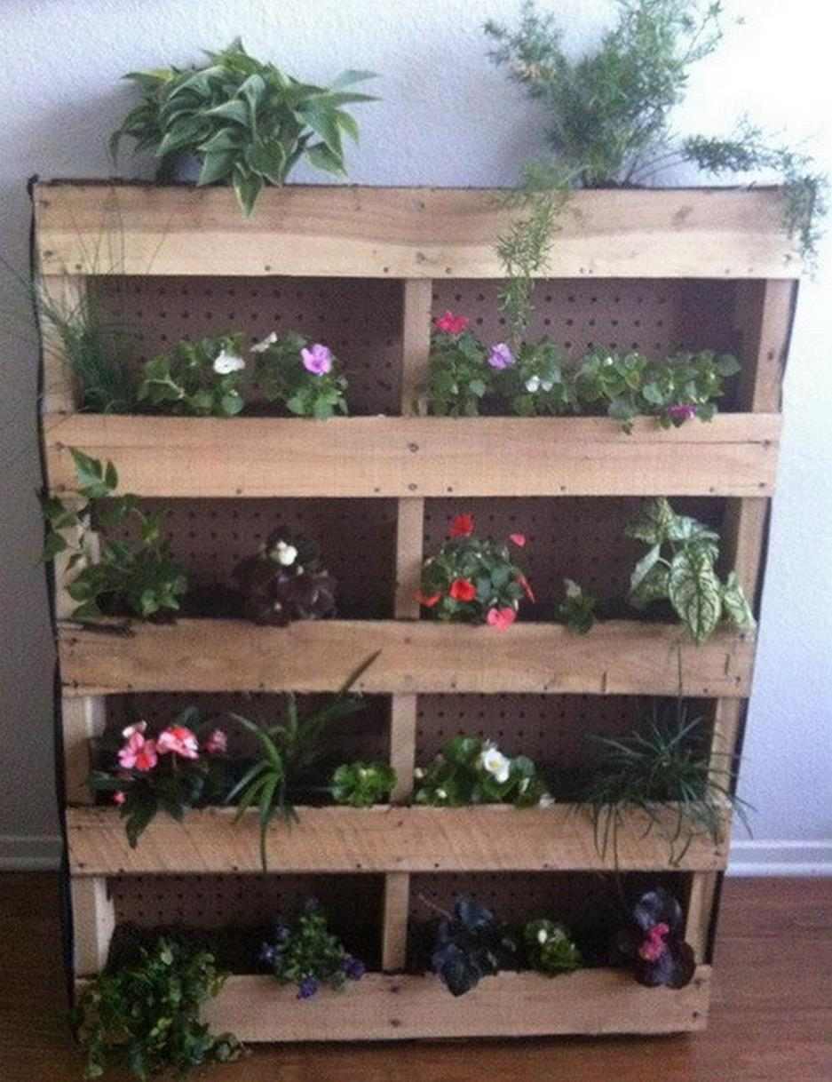 Gardening Ideas With Wood Pallets 26