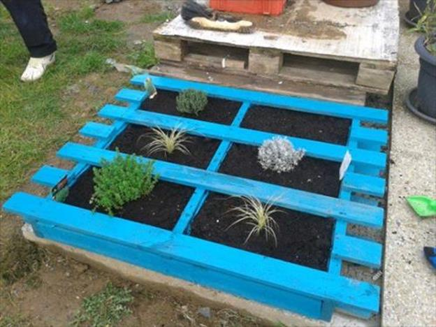 Gardening Ideas With Wood Pallets 5