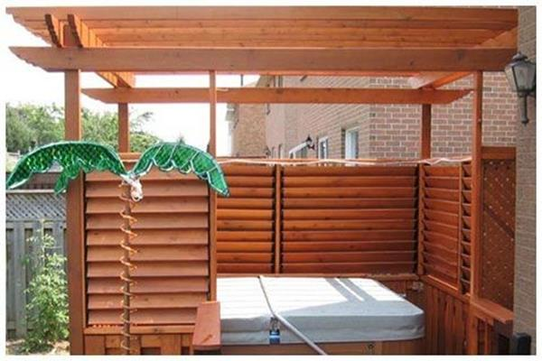 Perfect Outdoor Hot Tub Privacy Ideas 18