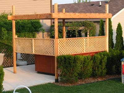Perfect Outdoor Hot Tub Privacy Ideas 21