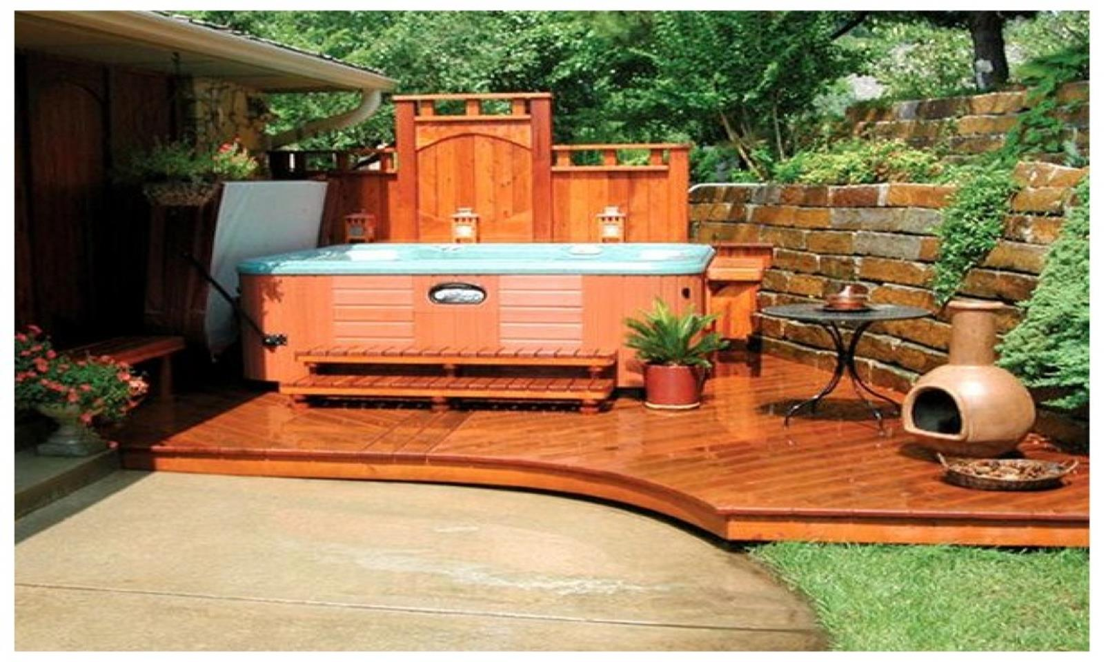 Perfect Outdoor Hot Tub Privacy Ideas 25