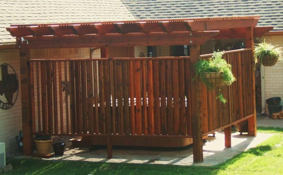 Perfect Outdoor Hot Tub Privacy Ideas 3