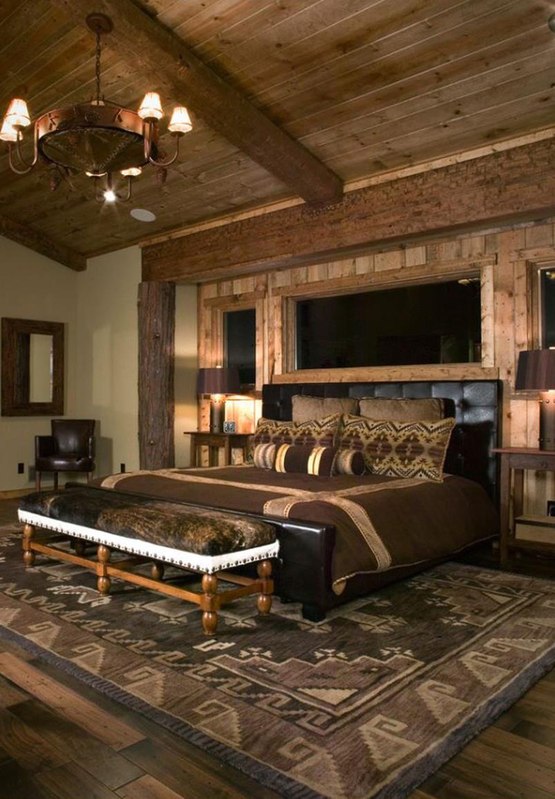 Rustic Bedroom Wall Decorating Ideas 13