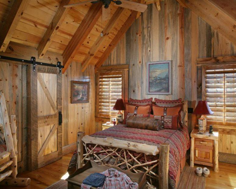 Rustic Bedroom Wall Decorating Ideas 2