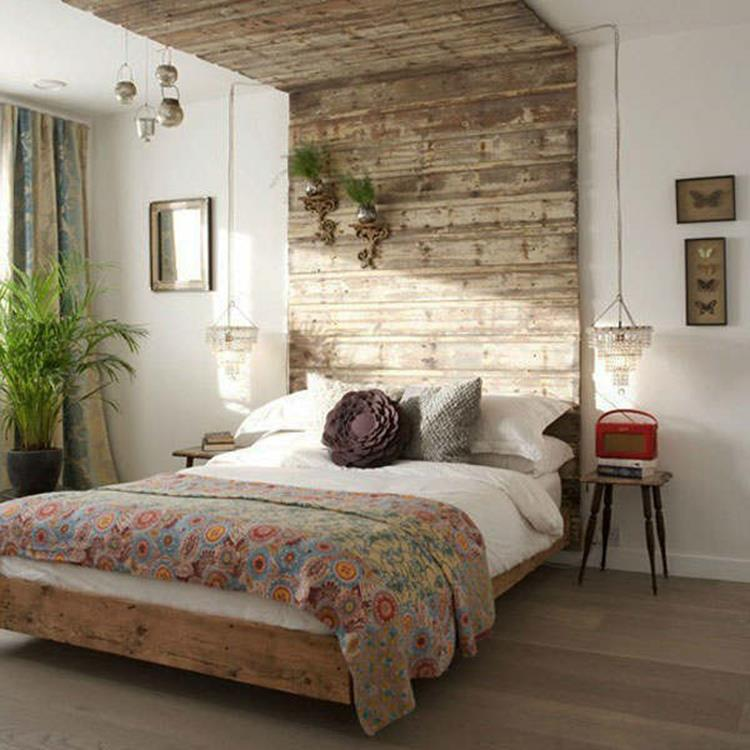 Rustic Bedroom Wall Decorating Ideas 21