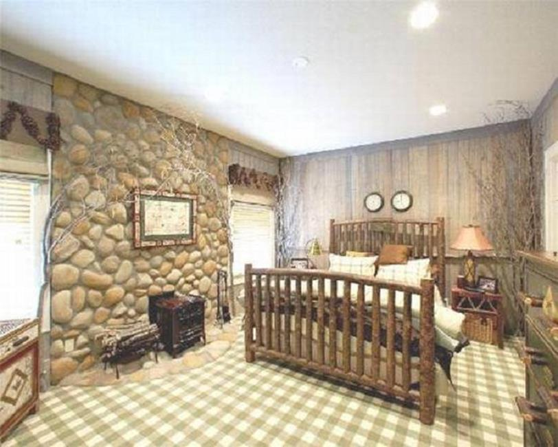 Rustic Bedroom Wall Decorating Ideas 24