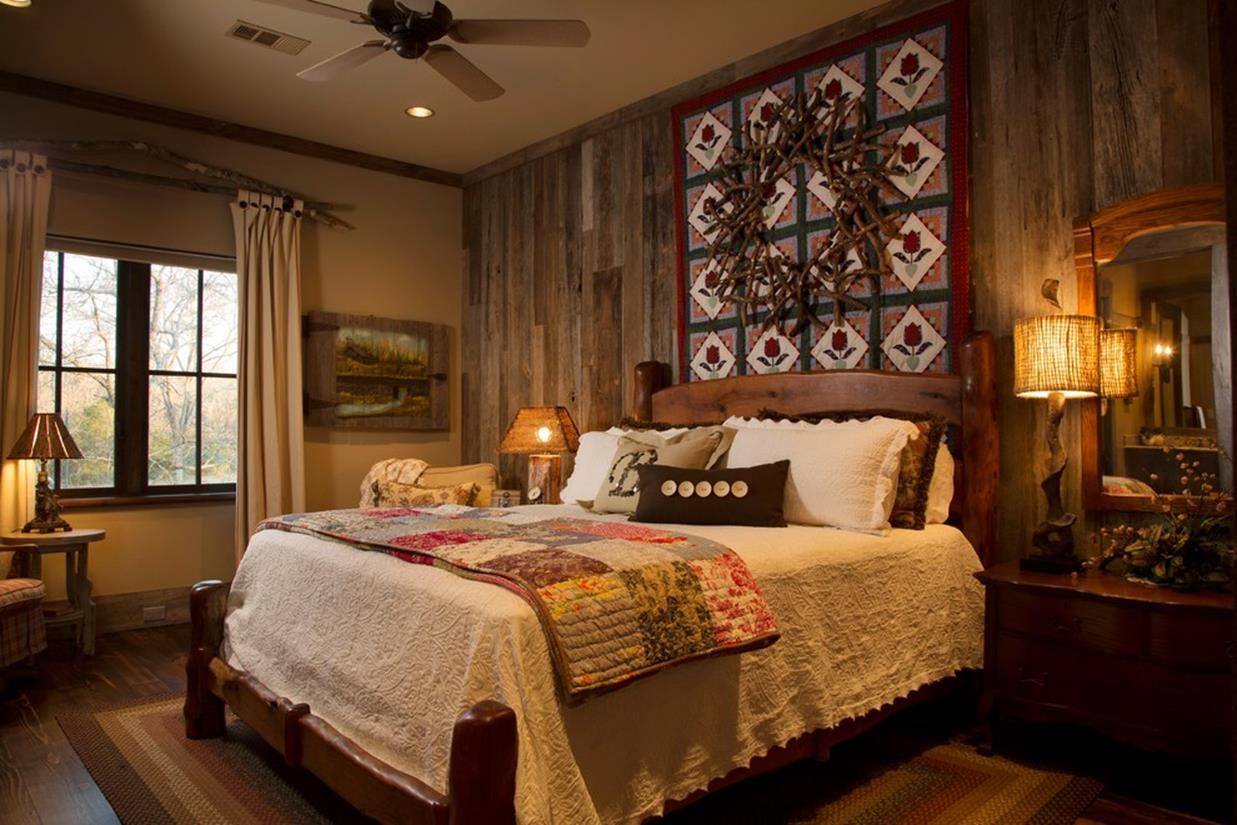 Rustic Bedroom Wall Decorating Ideas 6