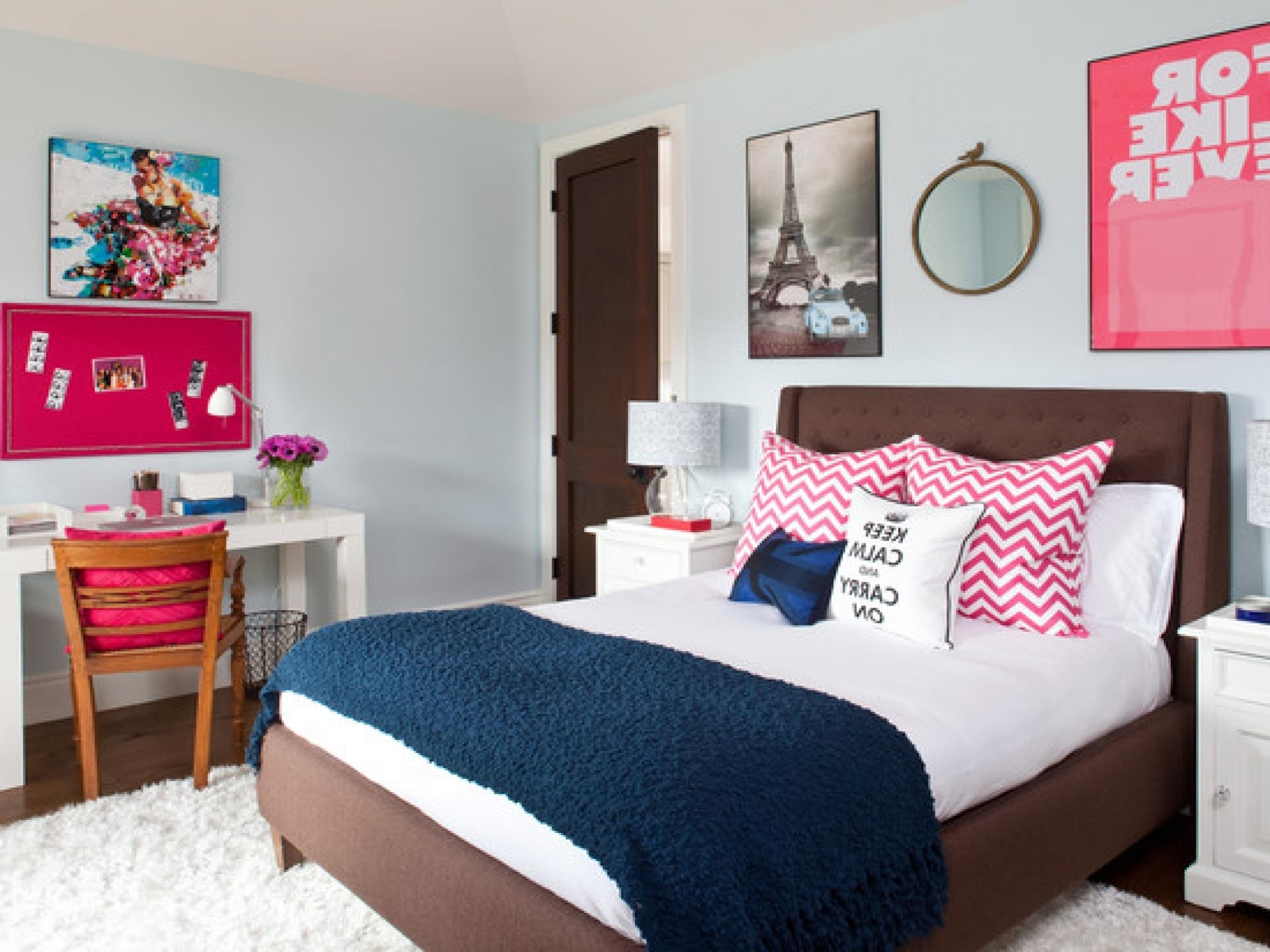 Simple Teen Girls Bedroom Decorating Ideas 24