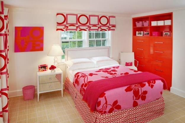 Simple Teen Girls Bedroom Decorating Ideas 31