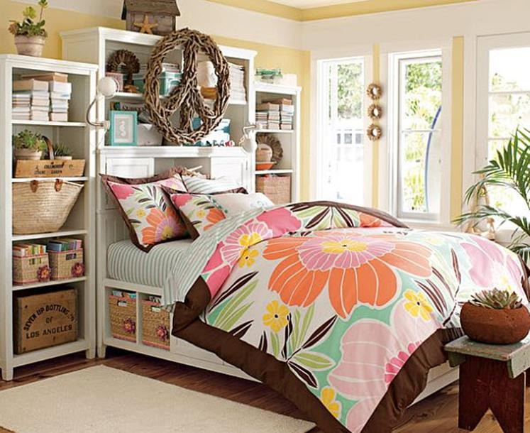Simple Teen Girls Bedroom Decorating Ideas 7