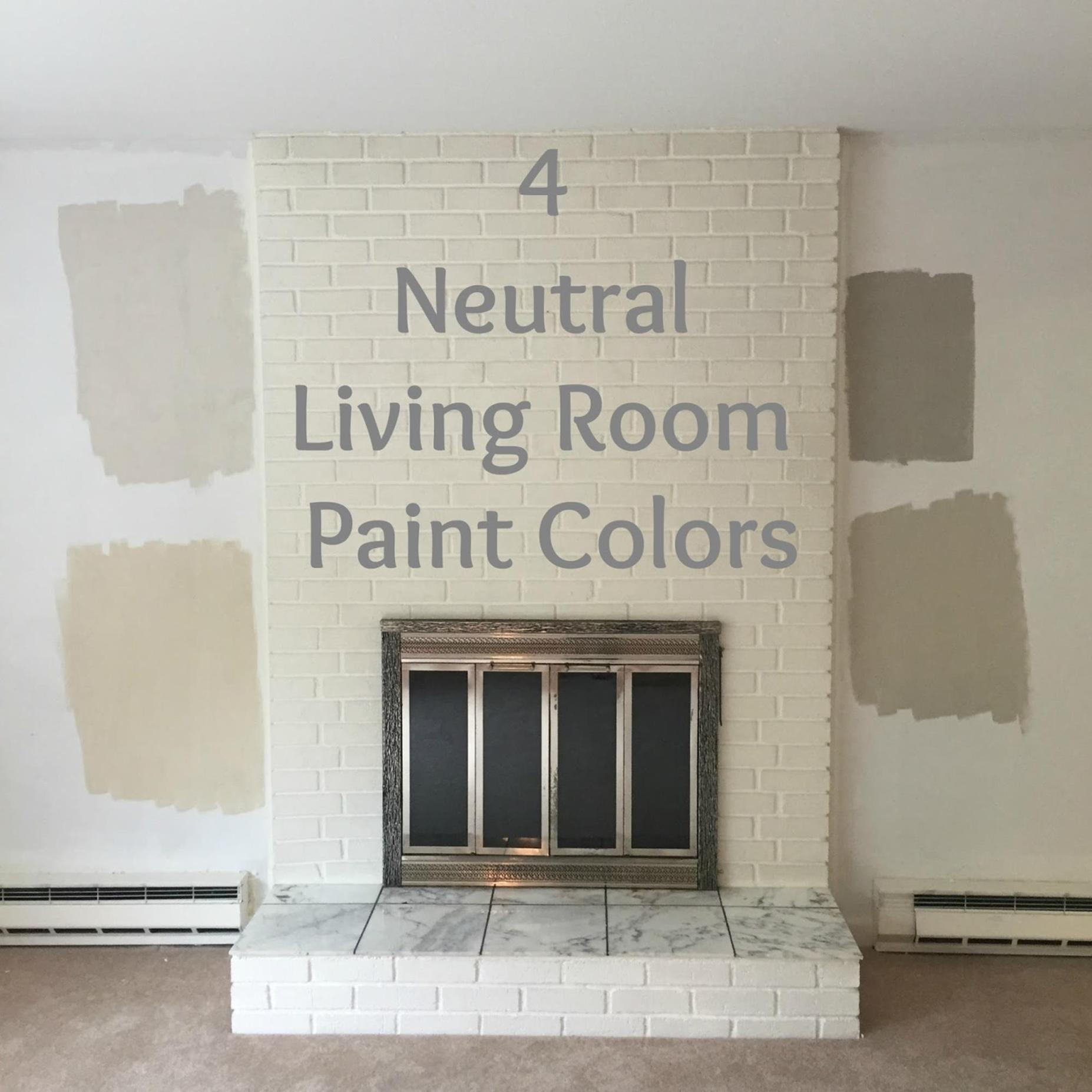 Best Neutral Paint Colors For Living Room 2