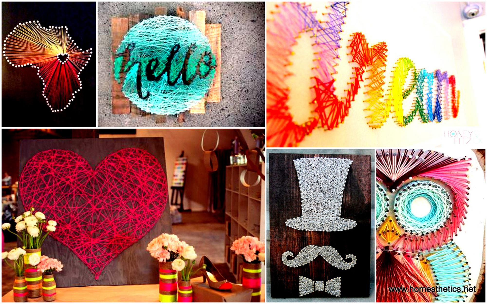 Creative Homemade Crafts for House Decorations Ideas 26