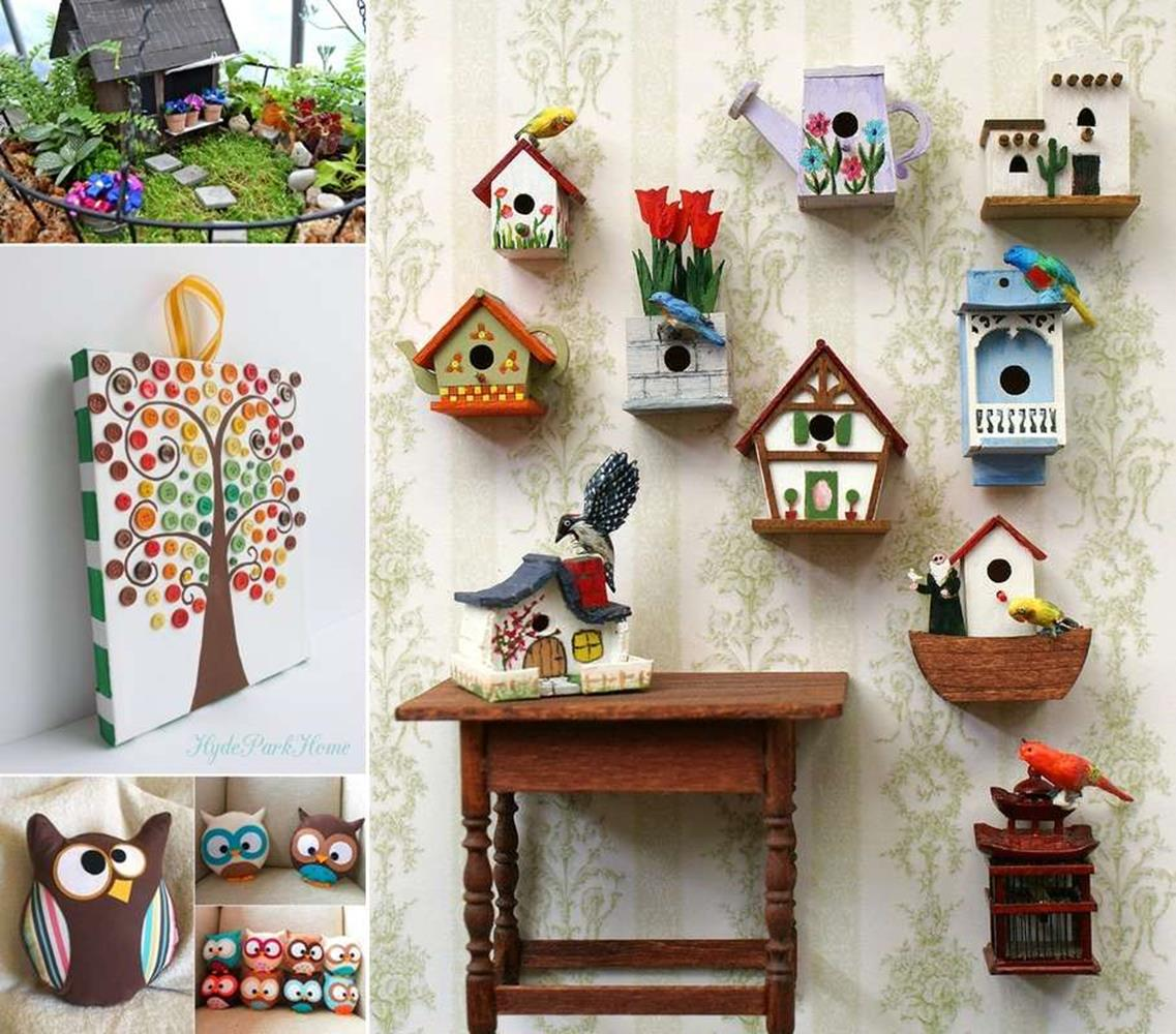 Creative Homemade Crafts for House Decorations Ideas 4