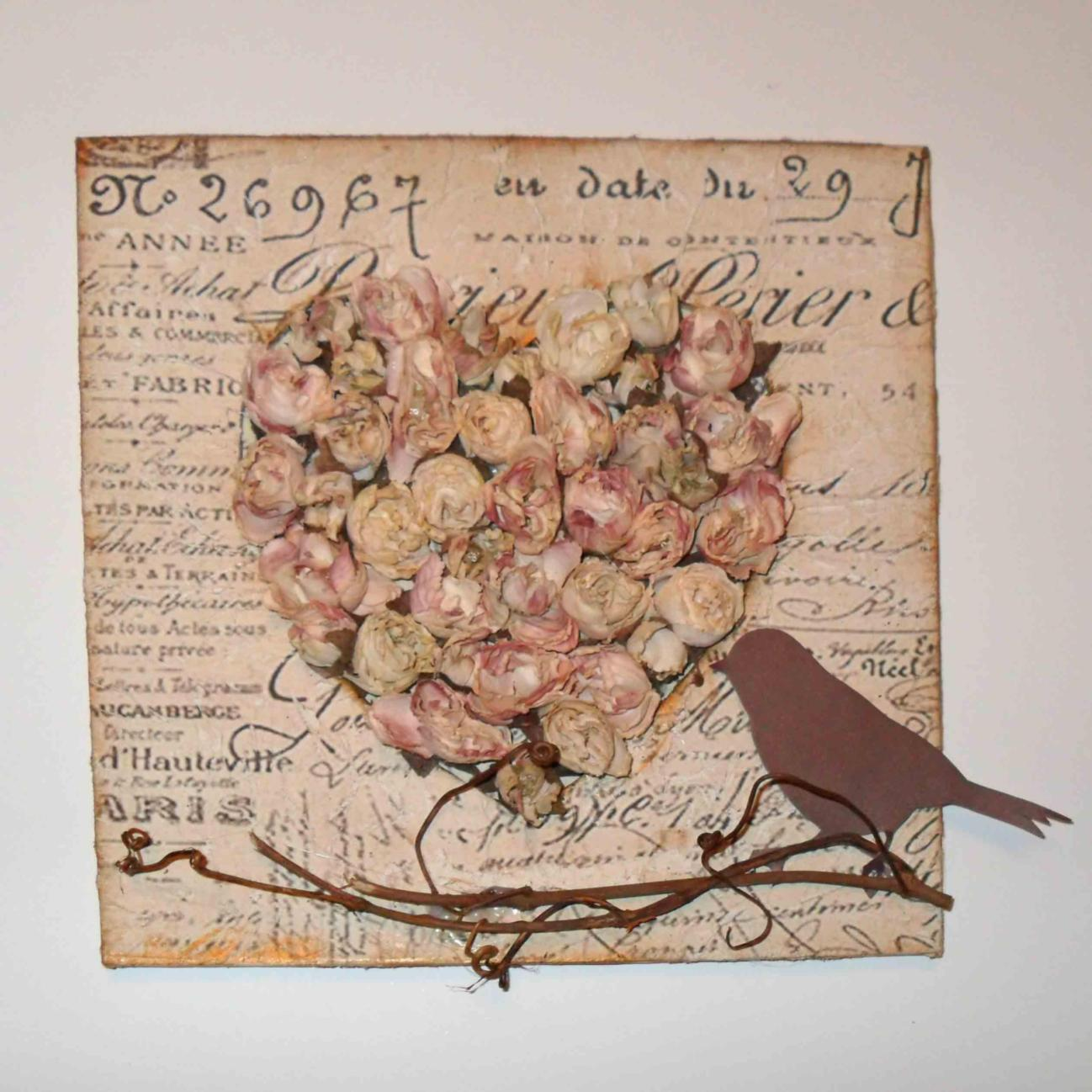 DIY Easy Shabby Chic Arts and Crafts Ideas 14