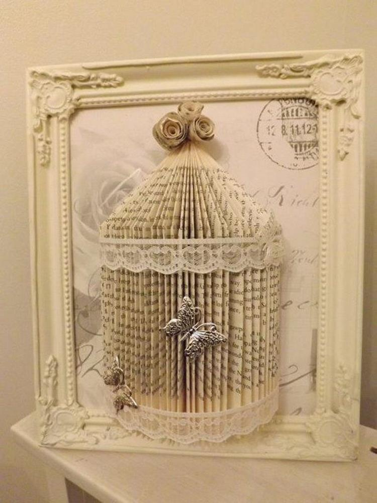 DIY Easy Shabby Chic Arts and Crafts Ideas 18