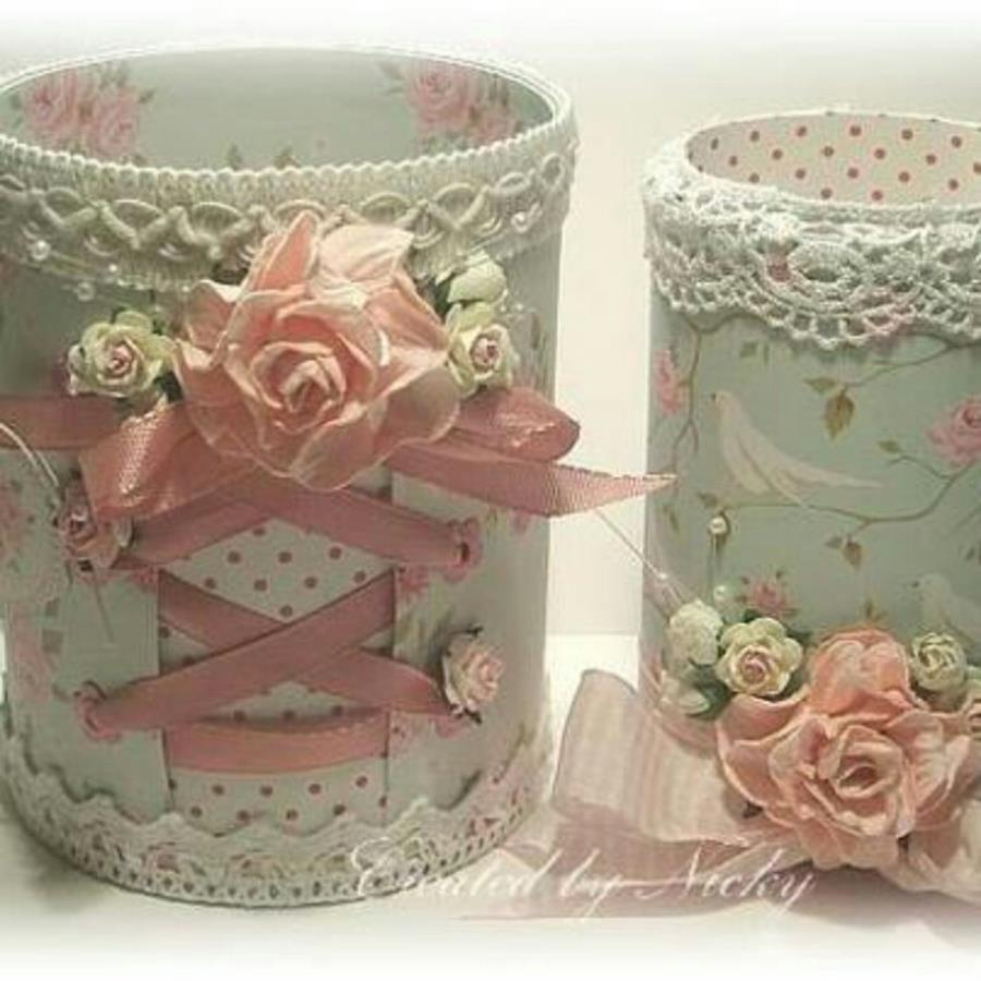 DIY Easy Shabby Chic Arts and Crafts Ideas 7