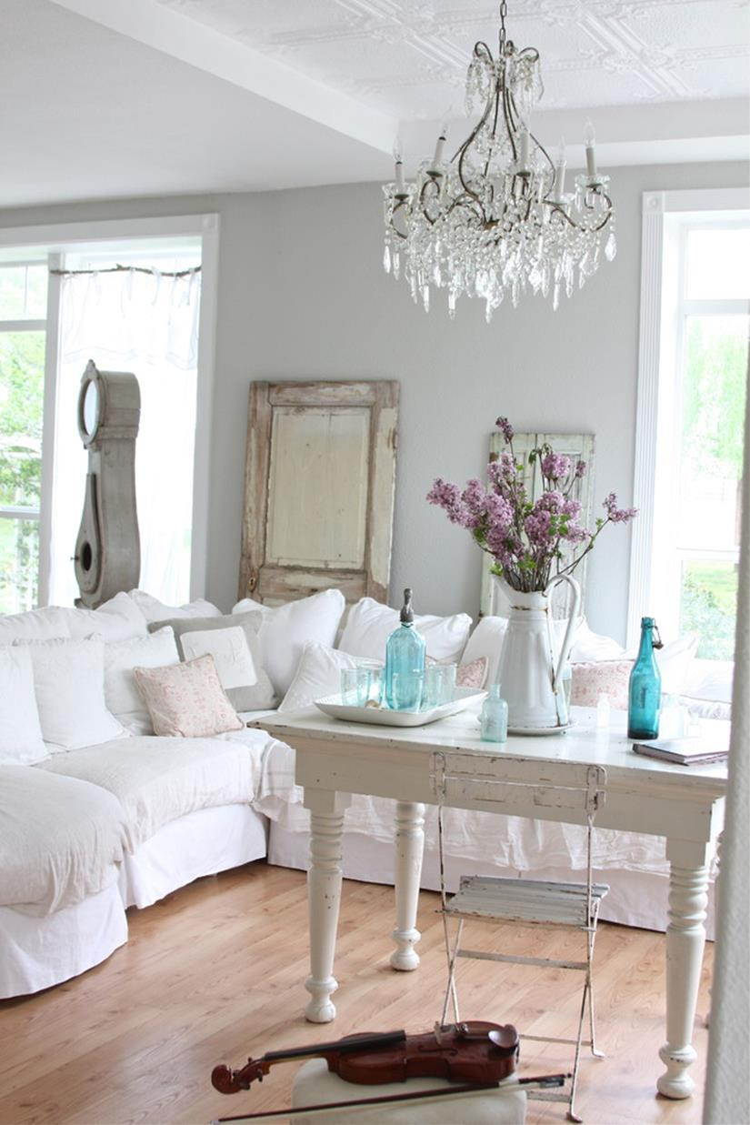 Perfect Shabby Chic Furniture and Decorating Ideas 32