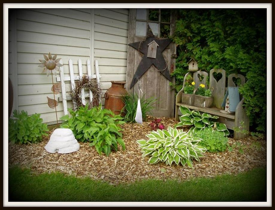Stunning Rustic Outdoor Yards Decoration Summer 20