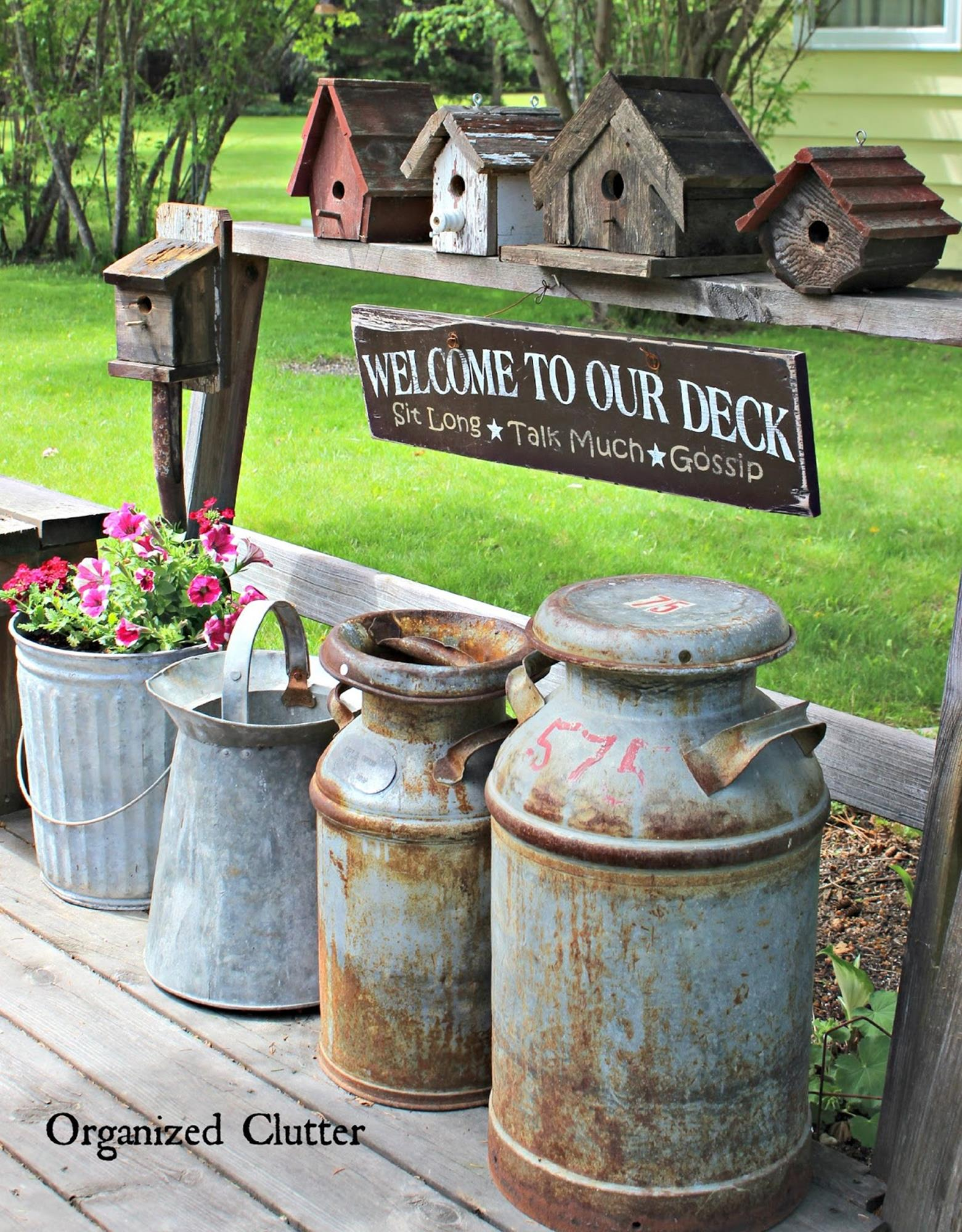 Stunning Rustic Outdoor Yards Decoration Summer 29