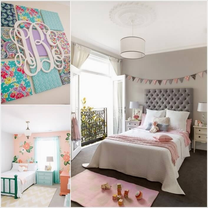 Creative 40 Diy Bedroom Wall Decorating Ideas 48 13 Diy Wall Decor Projects for Your Kids Room 6