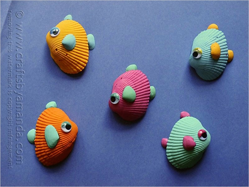 40 Diy Easy Seashell Craft Ideas 58 16 Adorable Seashell Craft Ideas You Should Do with Your Kids 3